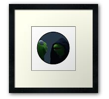 The evil inner me (kermit) Framed Print
