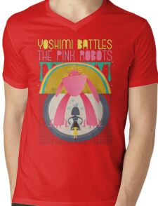 The Flaming Lips - Yoshimi battles the pink robots Mens V-Neck T-Shirt