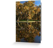 Bidwell Park Reflections Greeting Card