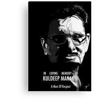 Kuldeep Manak Ji - A man of respect Canvas Print