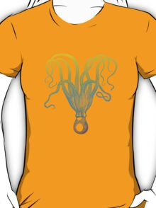 colorful octopus silhouette T-Shirt
