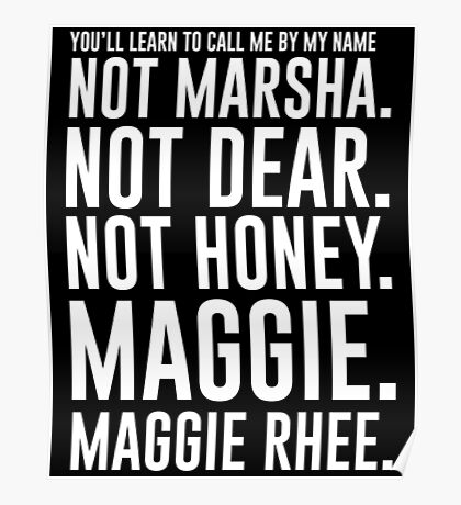 Maggie.MaggieRhee Poster