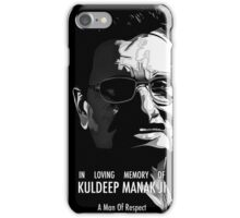 Kuldeep Manak Ji - A man of respect iPhone Case/Skin