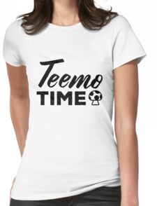 Teemo Time Shrooms - League of Legends Womens Fitted T-Shirt