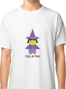 Trick or Treat - Cute Witch Classic T-Shirt