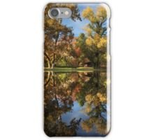 Sycamore Pool Reflections iPhone Case/Skin