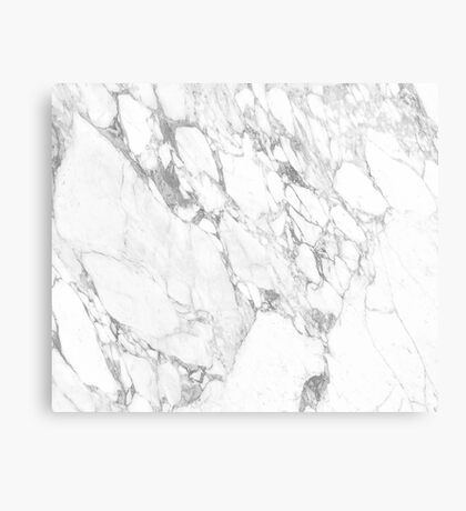 Arabescatto Marble Canvas Print