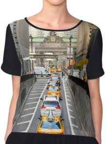 Grand Central - Street View Chiffon Top