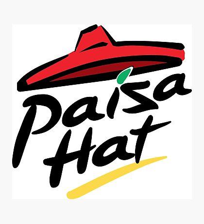 Paisa hat Photographic Print