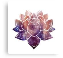 Buddhist Lotus Flower Metal Print