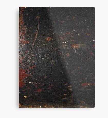 HARD KNOCKS (Damaged)  Metal Print