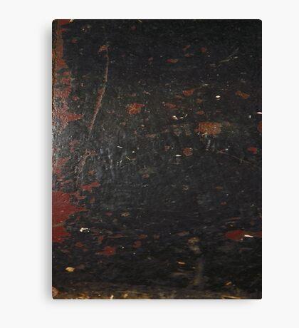 HARD KNOCKS (Damaged)  Canvas Print