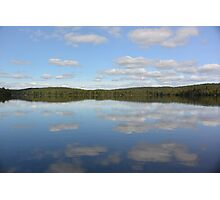 lake mirror of clouds  Photographic Print