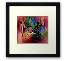 TREETOP SECLUSION Framed Print
