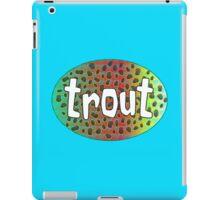 Rainbow Trout iPad Case/Skin