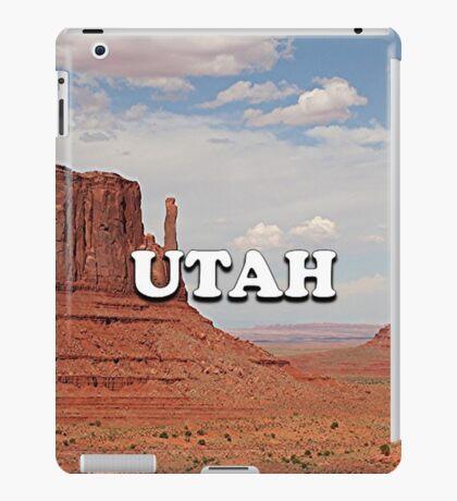 Utah: Monument Valley, USA iPad Case/Skin