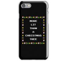 Lit Christmas iPhone Case/Skin