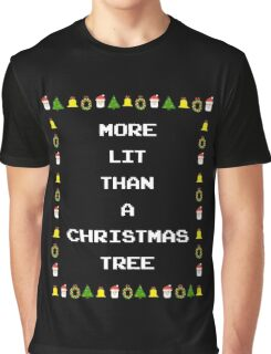 Lit Christmas Graphic T-Shirt