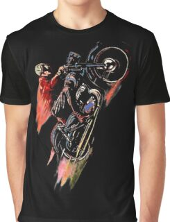 Retro Cafe Racer Two Graphic T-Shirt