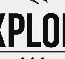 Explore - Adventure Awaits Sticker