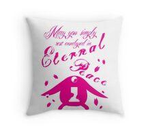 Mo-Peace Throw Pillow