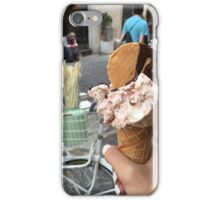 gelato in florence iPhone Case/Skin