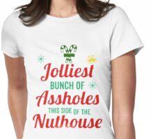 Jolliest Bunch Christmas Vacation Shirt Womens Fitted T-Shirt