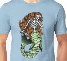 Skeletal Mermaid Unisex T-Shirt