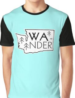Wander Washington Graphic T-Shirt
