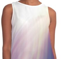 colourful rainbow abstract design  Contrast Tank