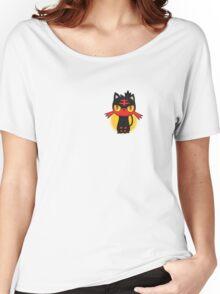 Pokemon Sun and Moon Litten Women's Relaxed Fit T-Shirt