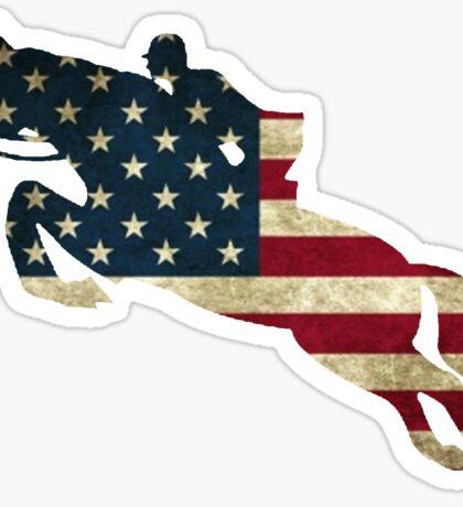 USA Jumping Sticker