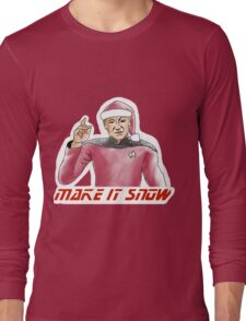 Make It Snow Long Sleeve T-Shirt