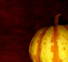 Levitate Pumpkin - Still Life Sticker