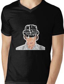 clockwork Mens V-Neck T-Shirt