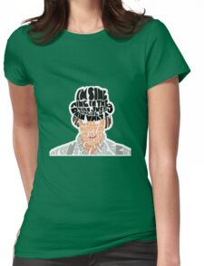 clockwork Womens Fitted T-Shirt