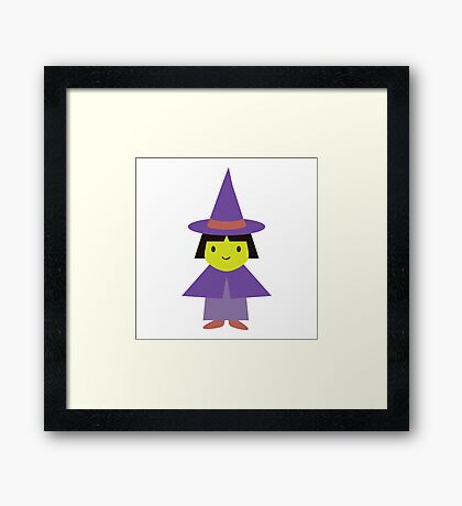 Adorable Witch Framed Print