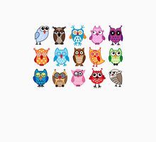 cute owls  Womens Fitted T-Shirt