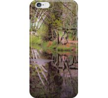 Impressionist Reflections iPhone Case/Skin