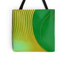 green abstract light design Tote Bag