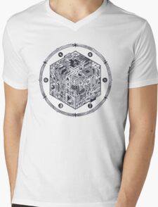 The Folly of Time and Space, Explained Mens V-Neck T-Shirt