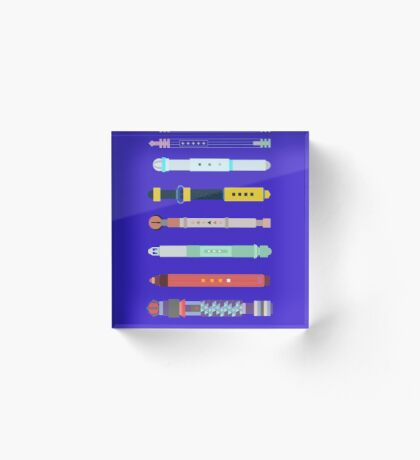 Custom Sonic Screwdrivers Acrylic Block