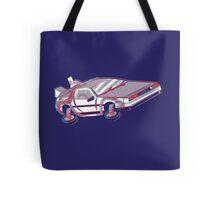 3-Delorean Tote Bag