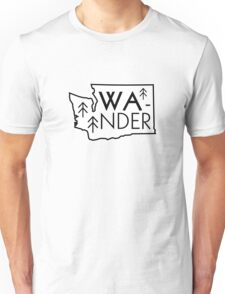 Wander Washington Unisex T-Shirt