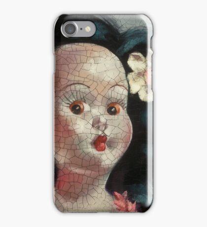 I'm Fine #9, (Hawaiian Doll) iPhone Case/Skin