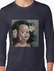 I'm Fine #9, (Hawaiian Doll) Long Sleeve T-Shirt