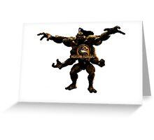 Goro MK Greeting Card