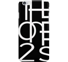 Official One2s Logo  iPhone Case/Skin