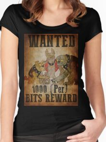 Wanted: The Diamond Dogs Women's Fitted Scoop T-Shirt