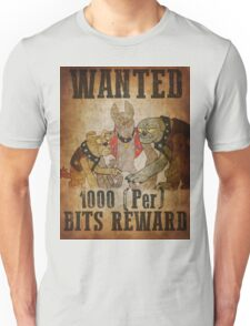 Wanted: The Diamond Dogs Unisex T-Shirt
